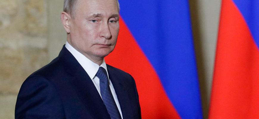 Обращение Путина в связи с коронавирусом